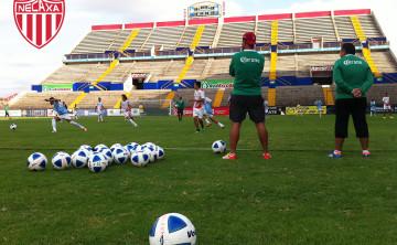 Necaxa entrenó en Culiacán Sinaloa