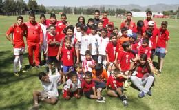 Última semana del curso de verano y comenzaron las inscripciones para la Escuela de Fútbol Necaxa
